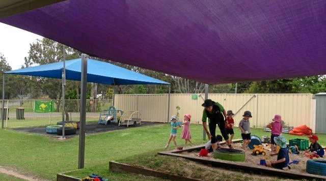 The fun play spaces at the South Burnett CTC Community Kids centre