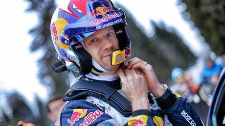 WRC Champion Sebastien Ogier.