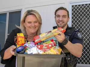 Police station aims high for Christmas food appeal