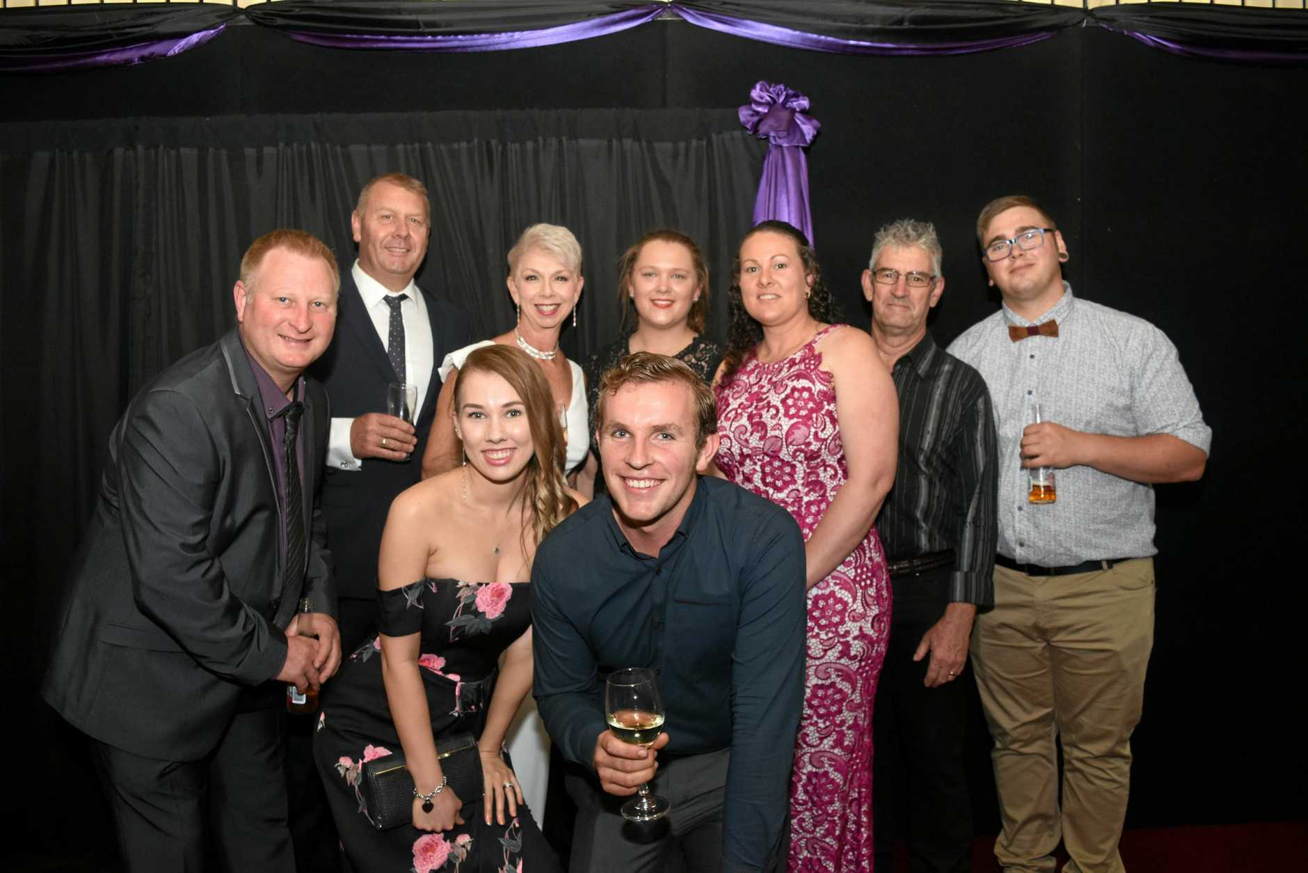 Schulte's Meat Tavern team, at the Lockyer Valley Business, Training and Apprenticeship Awards, Saturday, October 20, 2018.