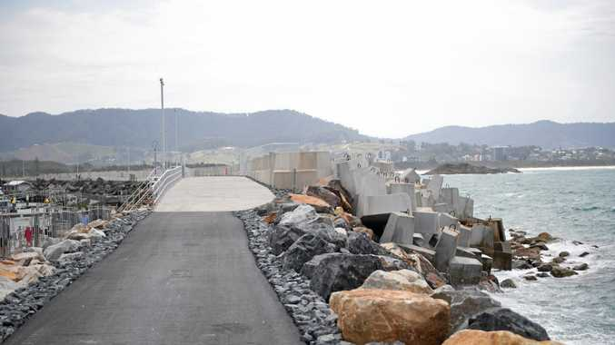 Coffs Harbour's new look North Wall.