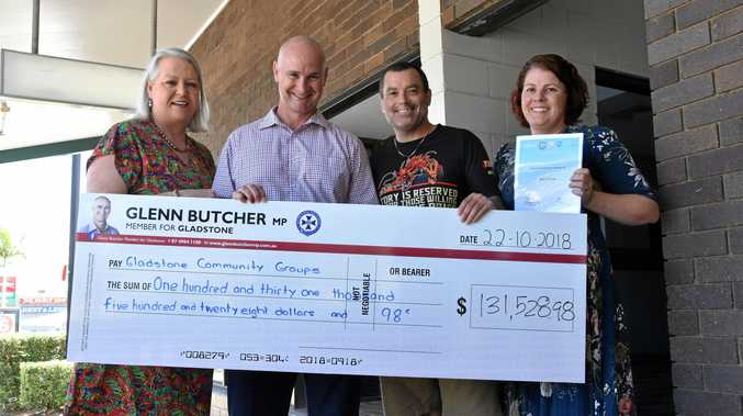 More than $130k in funds for community
