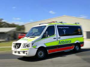 Two injured after crash on Bruce Hwy exit