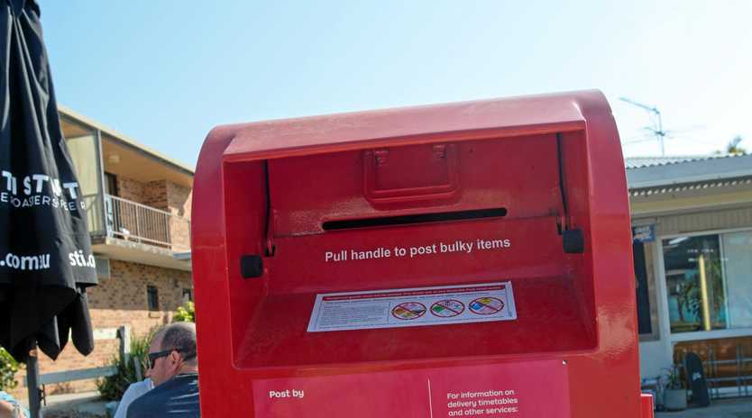 Australia's same-sex marriage postal vote , australia post box.. 21 sept 2017