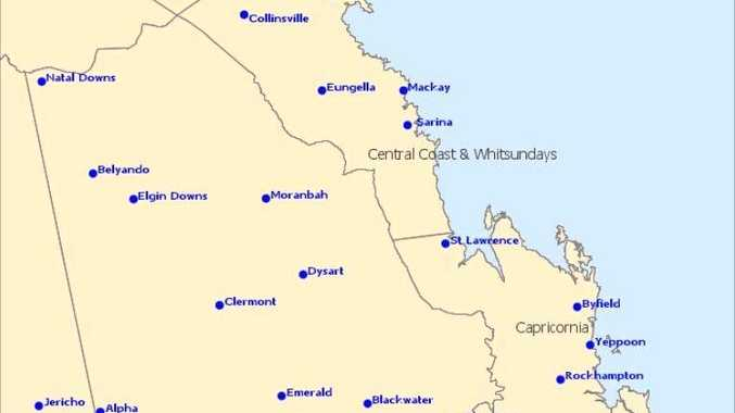 Update: Storms for Central Highlands in next several hours