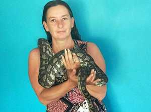 Snake owner bitten by eastern brown
