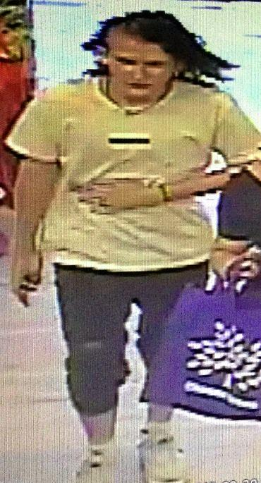 FIVE: Police want to speak with the person in this image about a shoplifting offence on Bourbong St in Bundaberg about 4pm on Friday, September 28 (reference: QP1801810898).
