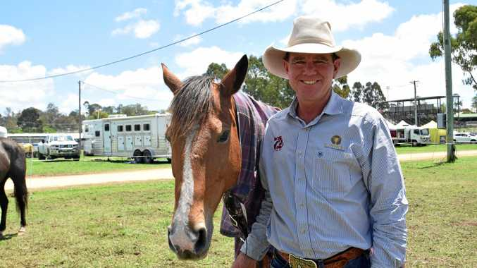 BREEDING PERFORMANCE: Rohan Marks won the Chinchilla Grandfather Clock Campdraft and is hoping to repeat that success at the Warwick Rodeo and Campdraft.