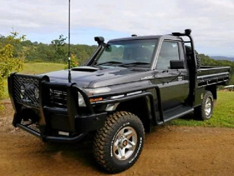 STOLEN: 2006 grey Toyota Landcruiser (similar to the one pictured) was stolen from an address in Ironpot this morning.