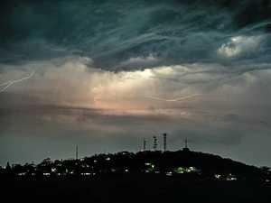 Lightning strike shocks man recharging mobile phone