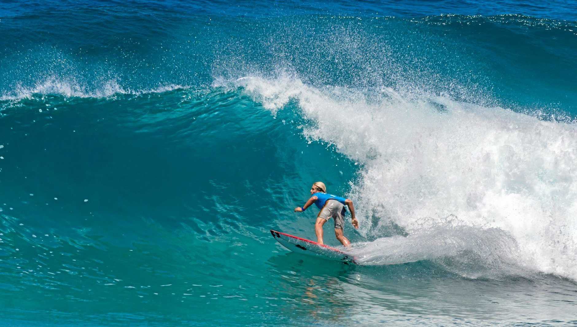 Former World Junior champion and World Tour competitor Ethan Ewing was back to his best helping his club PLB to victory at Main Beach, Point Lookout, North Stradbroke Island.