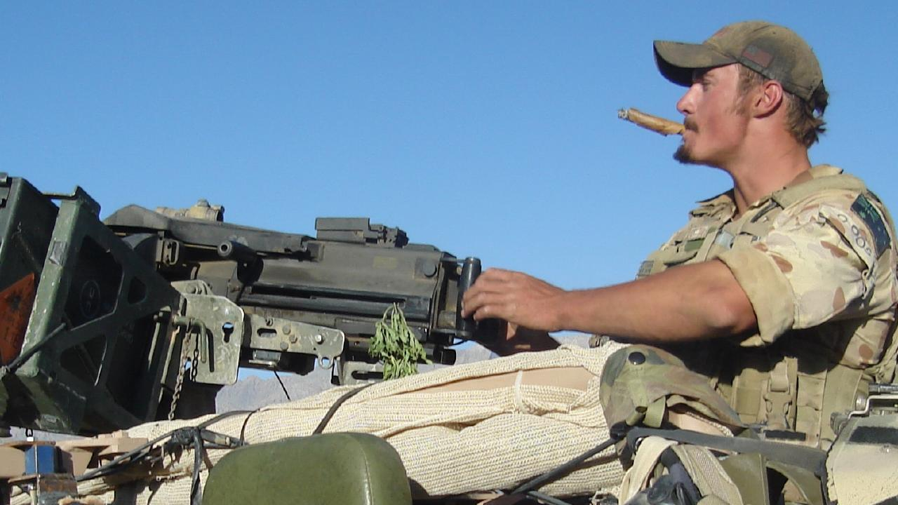 Private Chad Elliott was the lead scout when the Taliban ambushed the Australian forces. He was shot and hit by grenade sharpnel