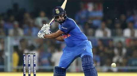Rohit Sharma scored an unbeaten 152.