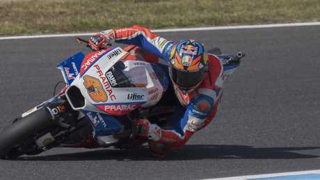 Jack Miller started from the front row in Japan but crashed out. Pic: Getty Images