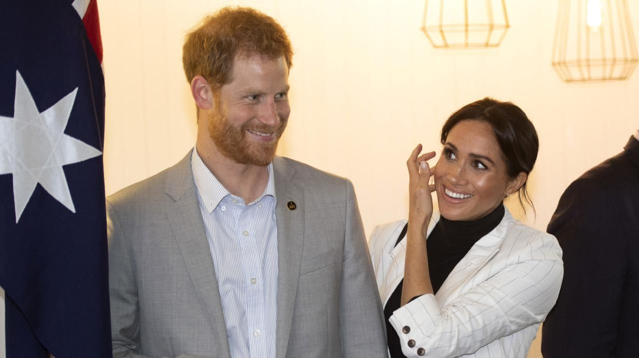 Prince Harry and Meghan Markle will today touch down in Fraser Island.
