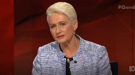 Kerryn Phelps on ABC's Q&A talking policies and historic swing against Liberals. Source ABC