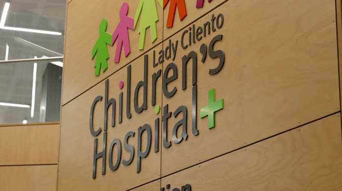 The State Government has announced the change from Lady Cilento Children's Hospital to Queensland Children's Hospital. File picture.