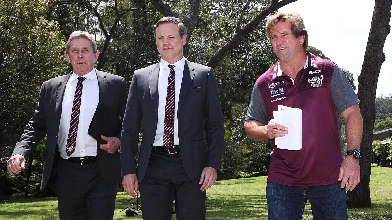 CEO Lyall Gorman and chairman Penn have a lot riding on Hasler. (Brett Costello)
