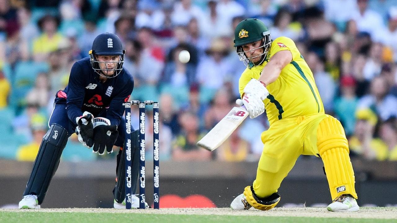 Aaron Finch is carrying serious white-ball form. Picture: AAP