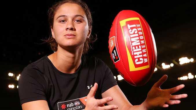 AFLW draft prospect McKenzie Dowrick.