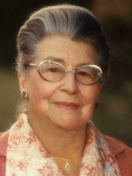 Lady Phyllis Cilento.