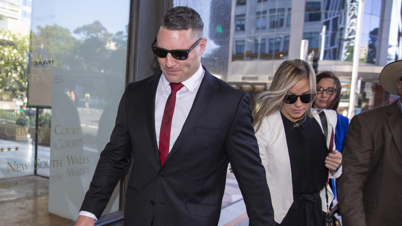 The charges he faces include intimidation, causing malicious damage, assaulting a female senior constable in the execution of her duty and resisting arrest. Picture: Justin Lloyd