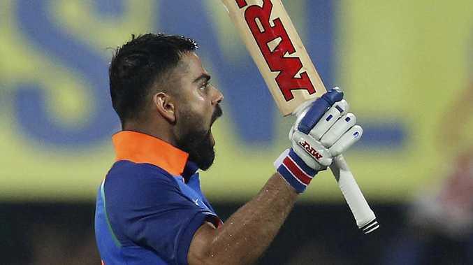 Virat Kohli scored his 36th ODI century.