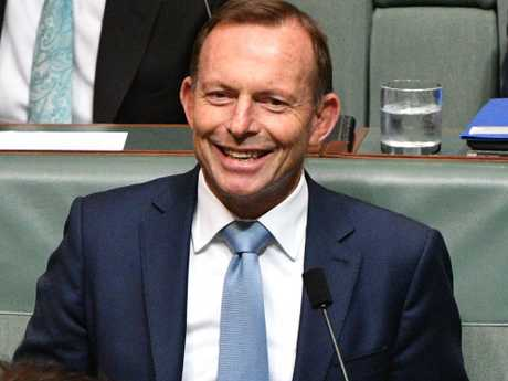 Former prime minister Tony Abbott could see his safe Liberal seat taken away from him. Picture: Mick Tsikas