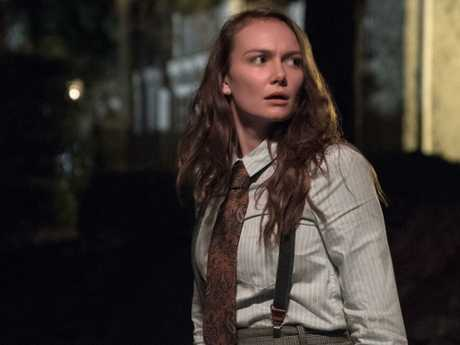 Andi Matichak plays Laurie Strode's granddaughter in the Halloween reboot.