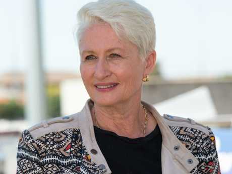 Independent candidate Dr Kerryn Phelps as claimed victory in Malcolm Turnbull's old seat of Wentworth. Picture: Monique Harmer)