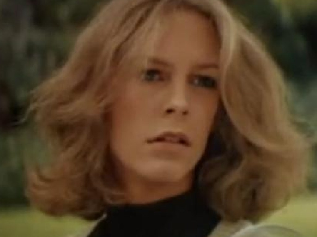 Jamie Lee Curtis in the original Halloween.