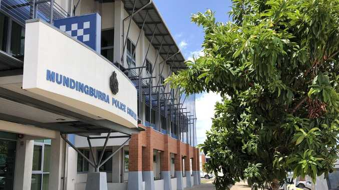 A Burdekin police officer was allegedly punched outside Mundingburra Police Station in an apparent road rage incident. Photo: Madura McCormack