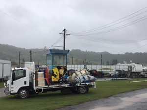 SHow goes ahead despite wet weather