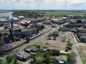Drone - Milliquin Mill and the Bundaberg Rum Distillery