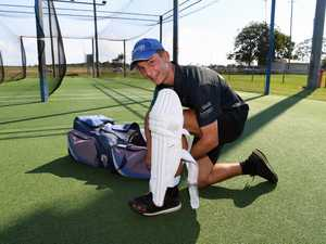 Talented cricketer Matt Jackson made a century in his