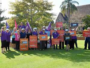 Bundy unions take to the street for better wage offers