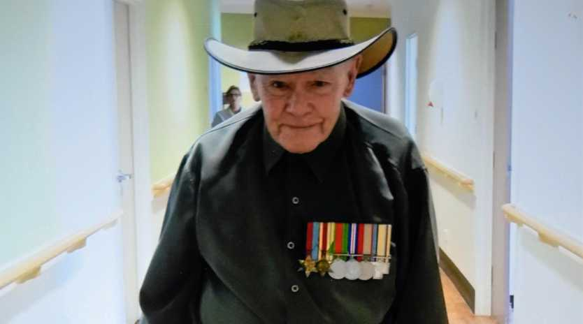 REMEMBERED: Allan Skerman was believed to have been one of Australia's oldest surviving Rats of Tobruk.