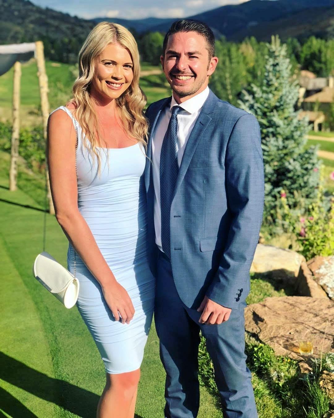 Australian Survivor 2016 contestant Felicity 'Flick' Egginton and fiancé Jonathan 'JJ' Henry.