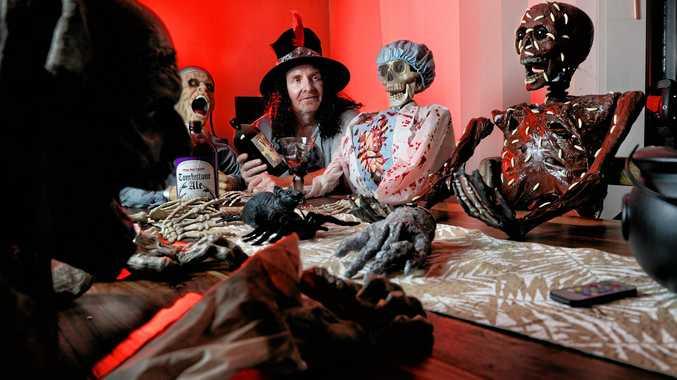 Suburban haunted house opens this Halloween