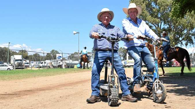 Campdraft veterans get help from machines