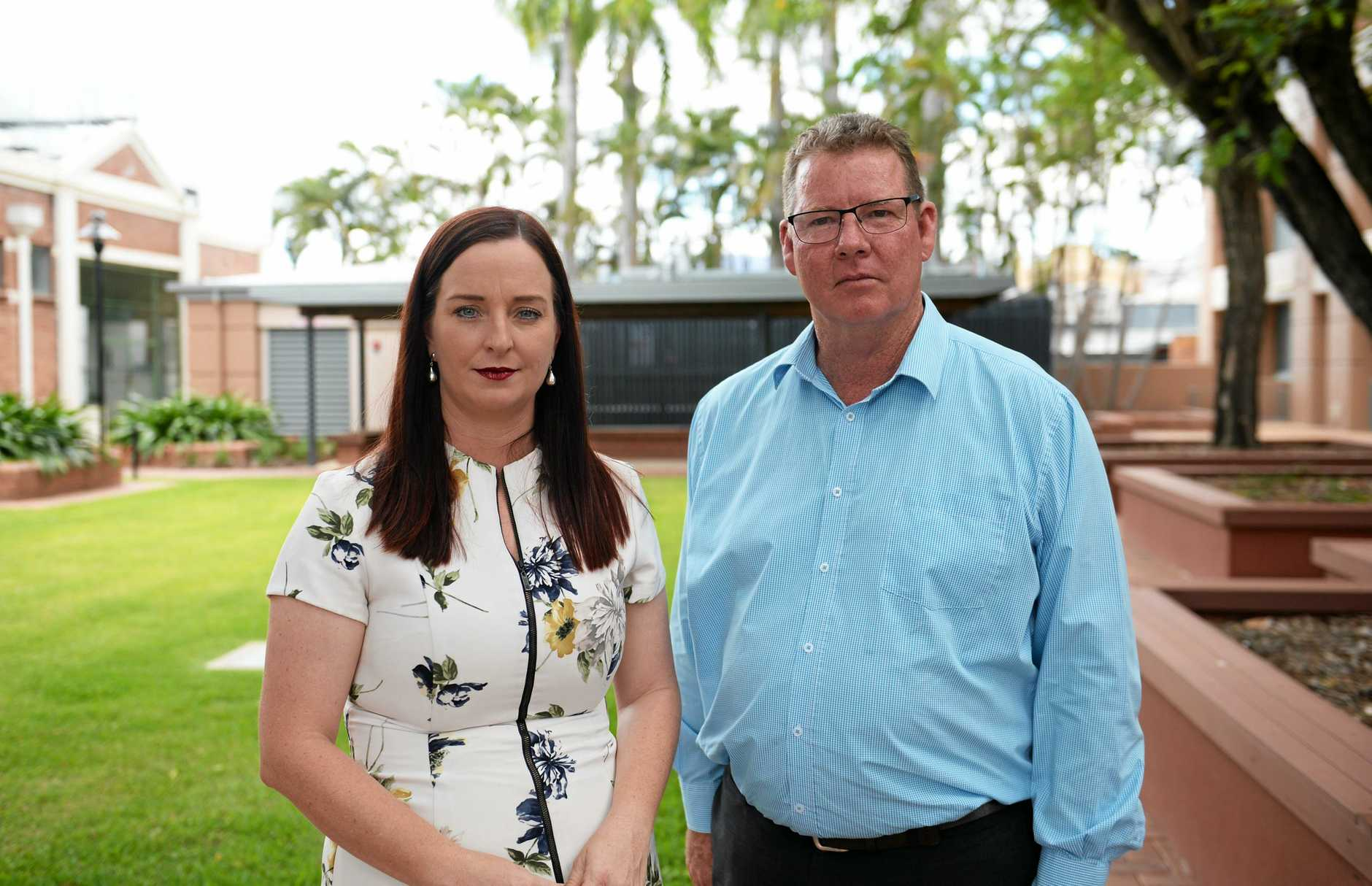 The Member for Keppel and Assistant Education Minister Brittan Lauga and the Member for Rockhampton Barry O'Rourke will met with JM Kelly workers at a jobs expo following the collapse of that company.