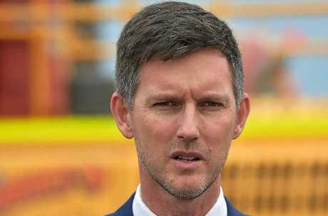 Main Roads Minister Mark Bailey.