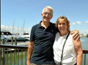 Couple's royally right timing during Aussie holiday