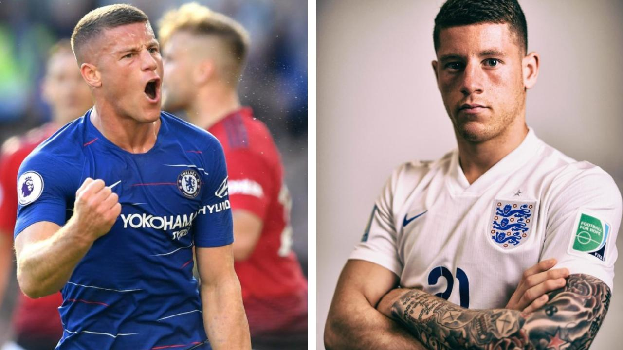 Ross Barkley has removed his tattoos.