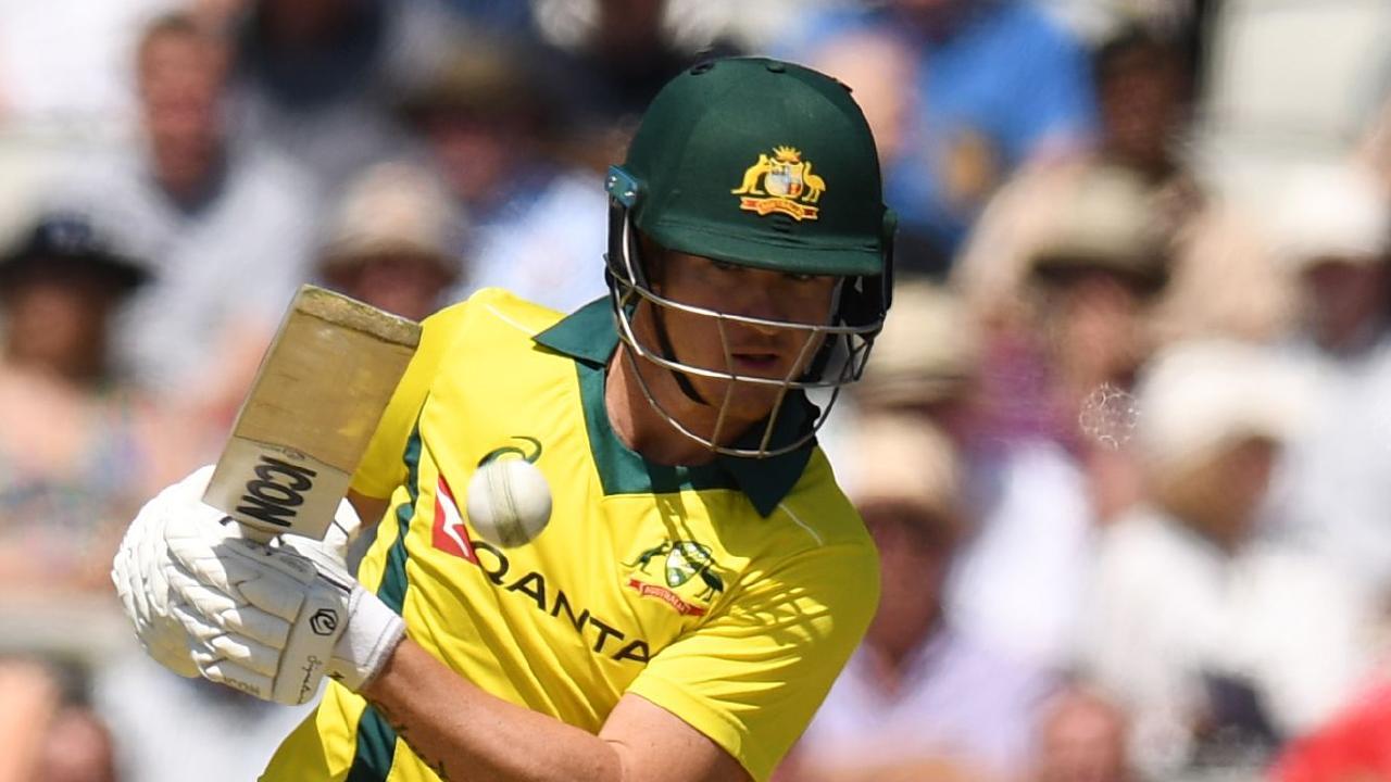 Australia's D'Arcy Short scored an unbeaten half-century against the UAE.