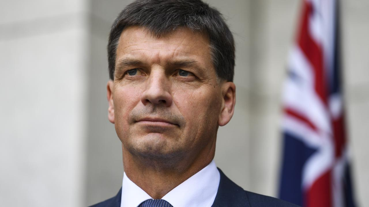 Energy Minister Angus Taylor says all states will be asked to sign on to the plan. Picture: AAP Image/Lukas Coch
