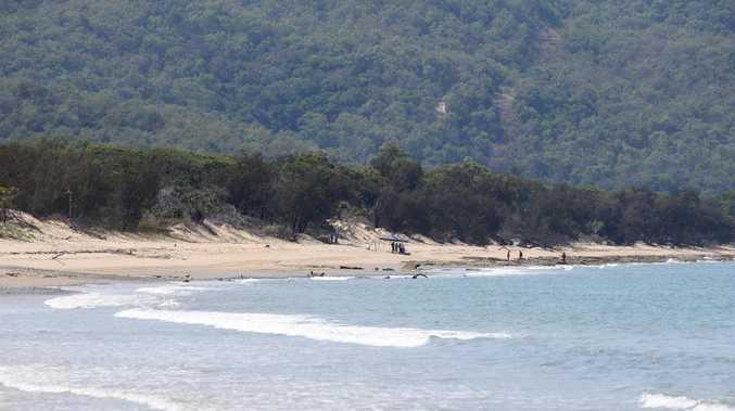 Wangetti Beach where Toyah Cordingley's body was found. Picture: Anna Rogers