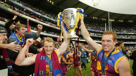 Premiership teammates Michael Voss and Justin Leppitsch both had a crack at bringing the Lions back to the top, but ultimately led the club the other direction.