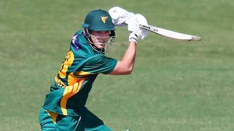 Ben McDermott made his debut for Australia against the UAE.