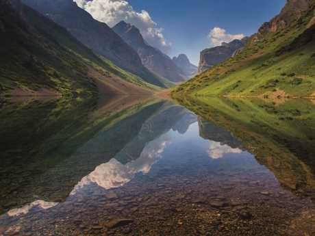 Kol-Tor lake is set amid supreme mountain terrain. Picture: Anton Agarkov / 500px